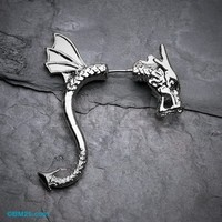 Dragon Rogue Fake Taper Earring