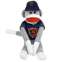 Chicago Bears NFL Plush Uniform Sock Monkey