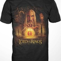 Lord of the Rings Two Towers Saruman T-shirt (XL)