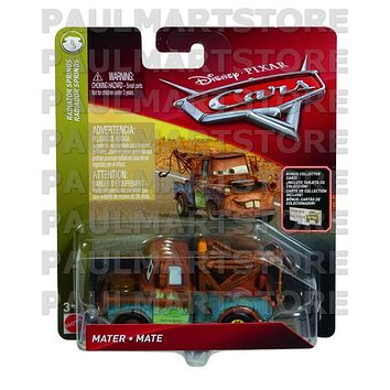 Disney Cars 3 Diecast 1:55 Scale Mater with Billboard