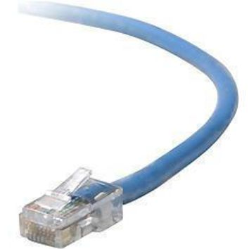 Belkin Components 8ft Cat5e Snagless Patch Cable, Utp, Blue Pvc Jacket, 24awg, T568b, 50 Micron, G