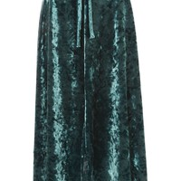 Velvet Tie Midi Skirt - New In Fashion - New In