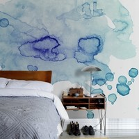 Colour Puddle - Wall Mural & Photo Wallpaper - Photowall