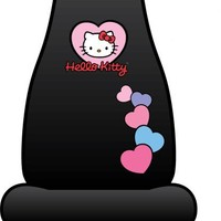Hello Kitty Hearts Sublimated Seat Cover