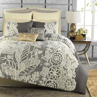 Anthology™ Madeline Reversible Comforter and Sham Set - Bed Bath & Beyond