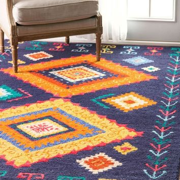 nuLOOM Hand Tufted Tribal Demetra Area Rug