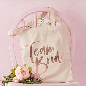 Team Bride Tote Bag | Boohoo