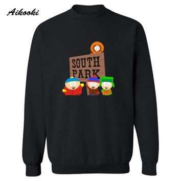 Sitcoms SOUTH PARK Classic Funny Fashion Harajuku Sweatshirt Men in Eric Cartman streetwear Hip Hop Hoodies Anime XXS-4XL