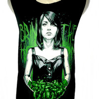 Bring Me The Horizon Suicide season T Shirt Tank Top Singlet Vest Sleevless Size M - Rock Band Music Metal