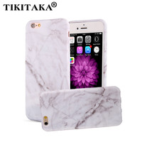 Marble Phone Cases For iPhone 7 6 6s Plus SE 5 5s Case Fashion Stone image Painted Shell Soft TPU Silicone Cover Funda Protector