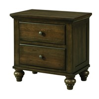 Liberty Nightstand AGED WALNUT