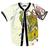 Tiger and Dragon Jersey
