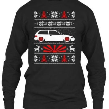 Ugly Jdm Christmas Shirt Ef