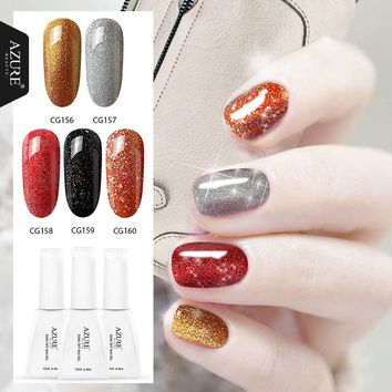 Azure Beauty 2017 Autumn Winter Series Nail Gel Varnish Newest Style 60 Colors Choose UV Gel Need Led Lamp 12ML Nail Gel Polish
