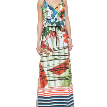 Modern Nomad Printed Maxi Dress, Size: