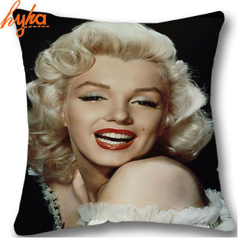 Hodgepodge Cushion Super Star Marilyn Monroe Audrey Hepburn Elvis TV Game Of Thrones Cushion Home Decorative Throw Pillow