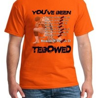 Tim Tebow You've been Tebowed Men's T Shirt