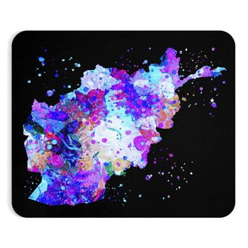 Afghanistan Map  Mouse Pad