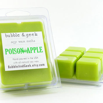 Poison Apple Scented Soy Wax Tart Melts - Snow White - Green Apple