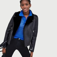 DOUBLE-SIDED BIKER JACKET