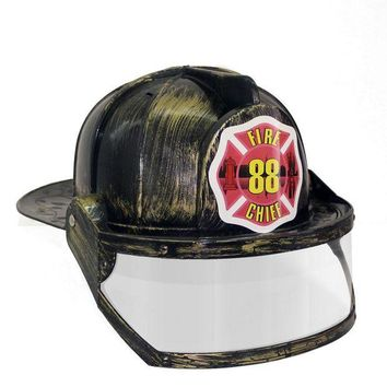 DCCKH6B Paint Fireman Costume Firefighter Role Play  Toy Hat  cosplay Fire Extinguisher caps Role Play