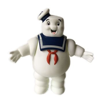 2017 Vintage Ghostbusters Figures Toys Stay Puft Marshmallow Man Sailor Figuras Dolls Brinquedos Kids Friends Gift 14cm