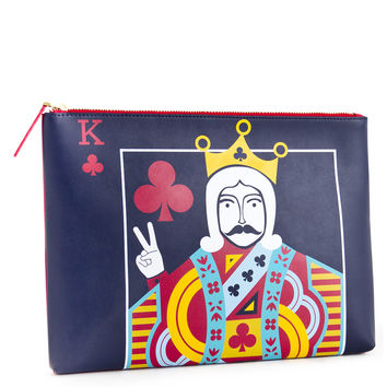 Jonathan Adler King Queen Reversible Pouch