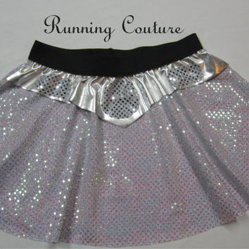 Princess Leia Star wars inspired Sparkle Running Misses circle skirt Darth Vader