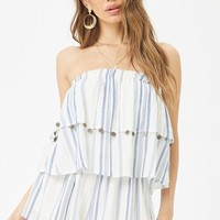 Surf Gypsy Striped Romper