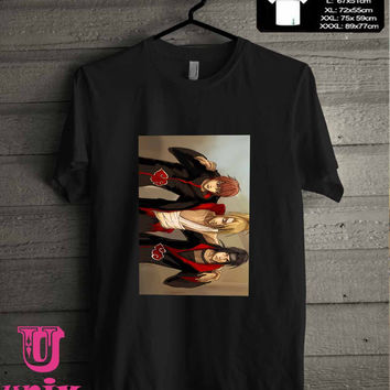 sasori deidara itachi sketche T-Shirt for man shirt, woman shirt **