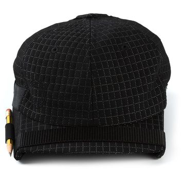 Nasir Mazhar checked baseball cap