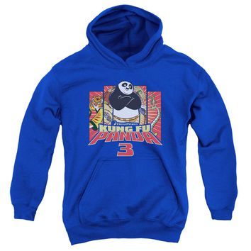 Kung Fu Panda - Kung Furry Youth Pull Over Hoodie