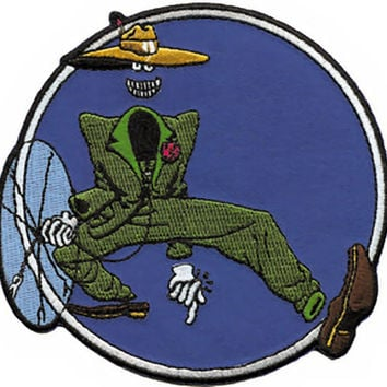 Grateful Dead Iron-On Patch Shakedown Dude