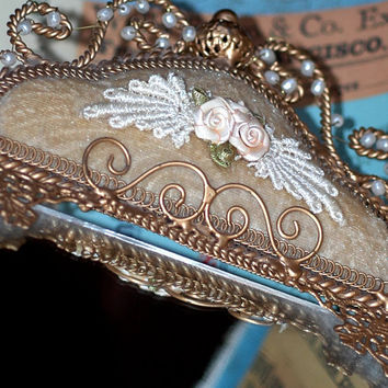 gorgeous ornate vanity mirror tray     HOME DECOR   by CoolVintage