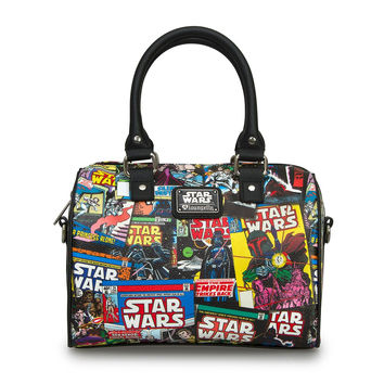 Star Wars Loungefly Comic Covers Duffle Bag