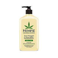 Hempz Sweet Pineapple and Honey Melon Herbal Body Moisturizer, 17 Ounce