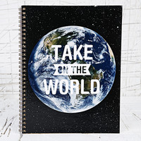 Take On The World Notebook - Urban Outfitters