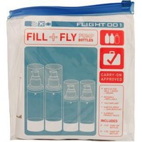 Flight 001 |  F1 FILL+FLY BOTTLE SET - Bottles & Containers - All Products