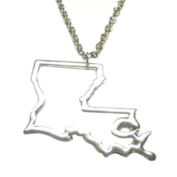 Best Louisiana State Necklace Products on Wanelo