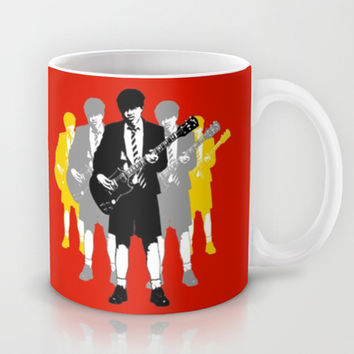 Angus Young Mug by Alan Hogan