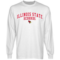 Illinois State Redbirds Team Arch Long Sleeve T-Shirt - White