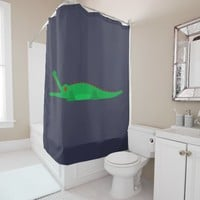 crocodile hunter shower curtain