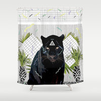 IMAMU Shower Curtain by Kris Tate