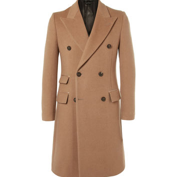Marc Jacobs - Double-Breasted Camel Coat
