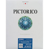 """Pro Ultra Premium OHP Transparency Film - Letter (8.5 x 11"""", 20 Sheets)"""