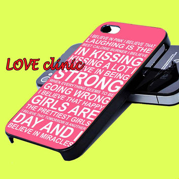 Audrey Hepburn Quotes Pink iphone 4, 5 case samsung galaxy s3, s4 case