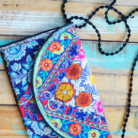 Embroidered Clutches (Handmade)