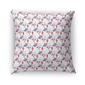 DRAGONFLY, KITE, AND LADYBUG Accent Pillow By Heidi Miller