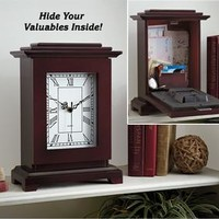 Mantle Clock Safe @ Fresh Finds