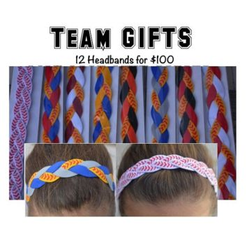 Team Gifts- Softball Headband Bundle